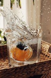 pumpkin splash by Blanchii