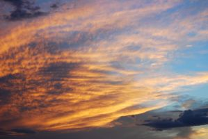 Sunset Clouds Stock 4085 by Phenix59