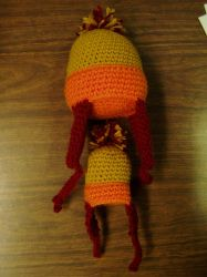 Crocheted Firefly Hat Plushie by Taikxo