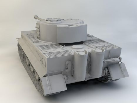Tiger Tank 3 by therealghostclown