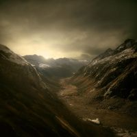 The Mountains of Dimmill by theflickerees