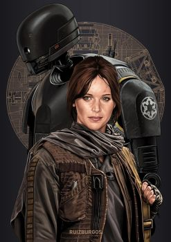 STAR WARS - ROGUE ONE by RUIZBURGOS