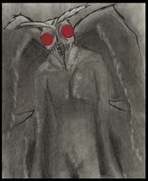 The Mothman by Cageyshick05