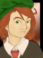 Lily Evans ? 2nd year by Atelierdereve