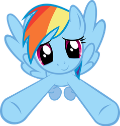 Incoming Hug - Rainbow Dash by Crisx3
