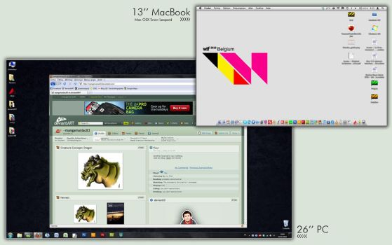 2010 desktop screenshots by QuentinGG