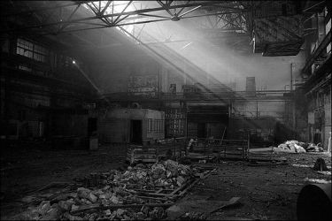 Abandoned automobile plant by urbantrip