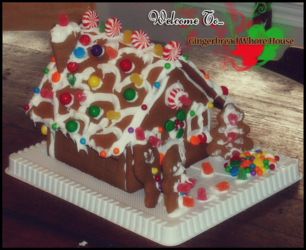 Gingerbread House 2008 v2 by Kumidaiko