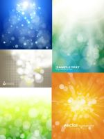 Cool Dream Light Vector Background by vectorbackgrounds