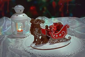 Gingerbread Sleigh by GingerbreadFairy