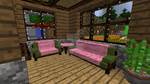 Minecraft - Living room by Timidouveg