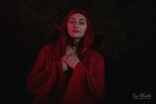 Melisandre cosplay - Oh, Lord of Light! by TynaCosplay