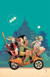 Harley and Ivy meet Betty and Veronica cover by BilquisEvely