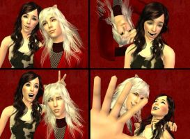 Inuyasha Photo Booth Sims 2 by WhiteButterflyFilms