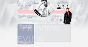 Design ft. Daniel Gillies by tessie-art