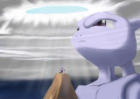 Mewtwo - Why Am I Here? by infernaltai91