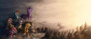 The Mane War by AssasinMonkey