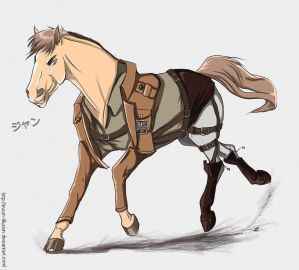Horsey | Dad!Jean X Child!Reader [AU] by hanabi-ko on DeviantArt