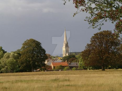 Church and township by anakinluvr