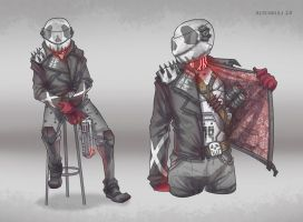 Character Concept / Autoskull 2.0 by BrotherBaston