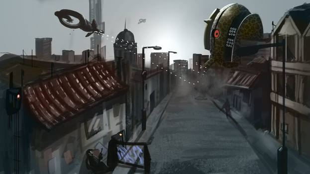 Day of the Animal King Turret by kingaby