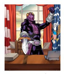 Legendary the Marvel deck Building Game Baron Zemo by maehao