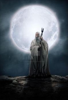 Saruman The White by YoungPhoenix3191