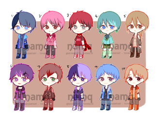 Set Price Casual Babs Adopt Batch OPEN by anoneki