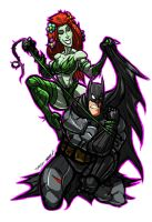 IVY VS BATMAN JOSEPH LINSNER TRIBUTE by Sabrerine911