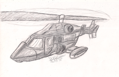 Concept - The Airwolf in Action by Dialga22239