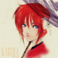 Gintama: Kagura of the lily by sorakuuin