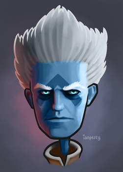 Asher Mir Caricature by IanPesty