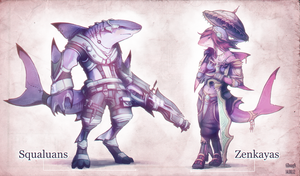 Requins Civilization by Astral-Requin