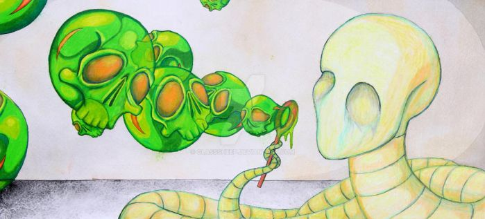 The Childs Play of Worms and Earth by GlassSheep