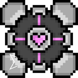 Companion Cube! by Emperaptor