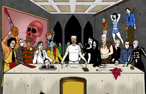 HORROR LAST SUPPER by phymns
