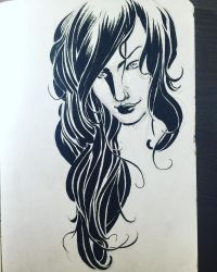 Hair study. by aminamat