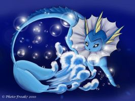 Vaporeon.. by Photo-Freak7