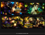 4 PSD PACK Signature Agosto 2015 by DraghenGFX