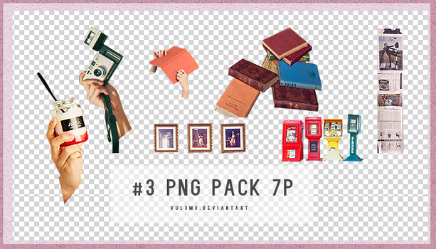 Png Pack #3 7P by Yu by vul3m3
