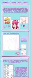 Shock777's Colored Lineart Tutorial  by shock777