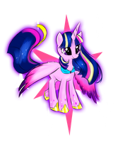 Twilly Rainbow Power by allocen