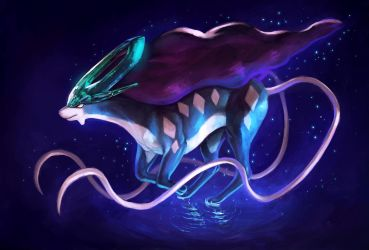 Suicune by SoihtuSS