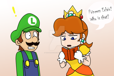 MarioBros: The Super Luigi book series by The-PirateQueen