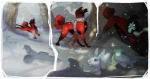 WoR: Fire on Snow by skulldog