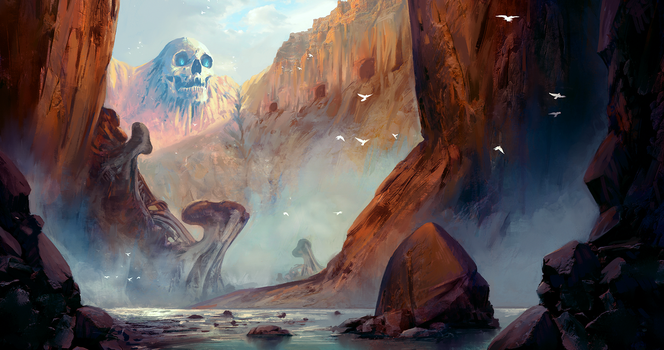 Skull Canyon by MatteoAscente