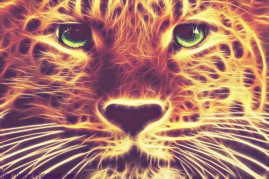 Leopard [Fractalius] by JAYOR