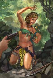 Jungle girl Captured by Huy137