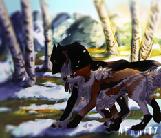 {DoTW} - Do Not Call Me a Good Wolf by Aekaitz