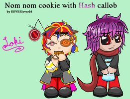 Cookie Collab by StygianRecluse